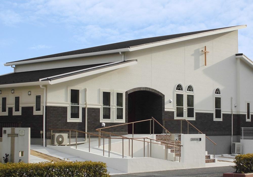神奈川県横浜市 「金沢文庫の教会」ディプロマット 色:オニキス